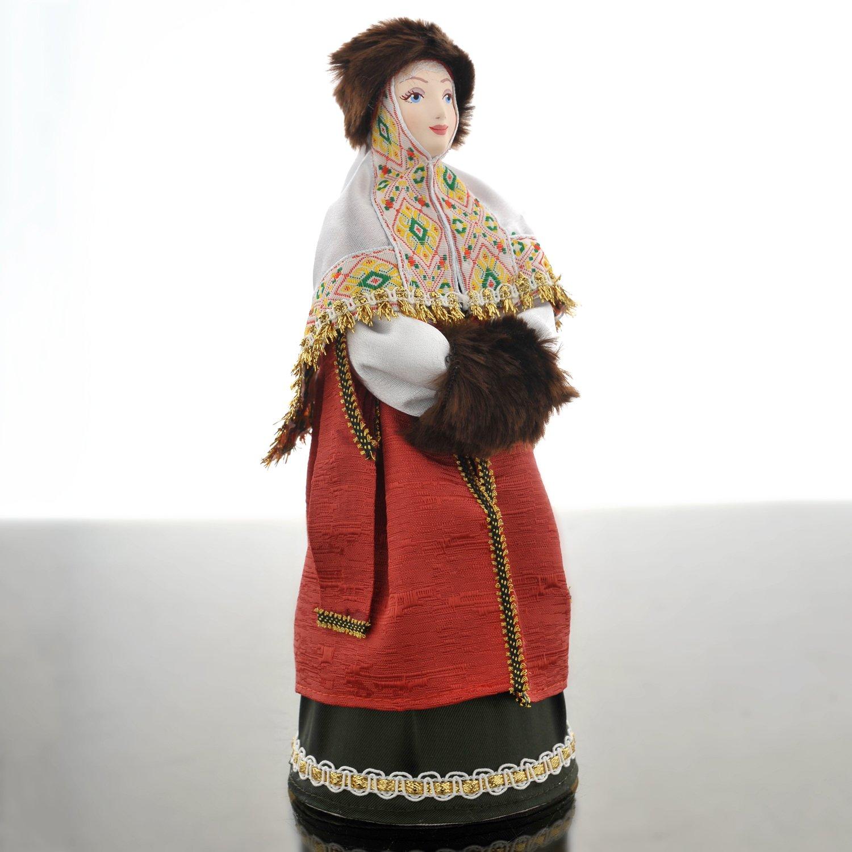 """Кукла """"Боярыня в зимней одежде с муфтой 16-17 в Русь"""", арт ..."""