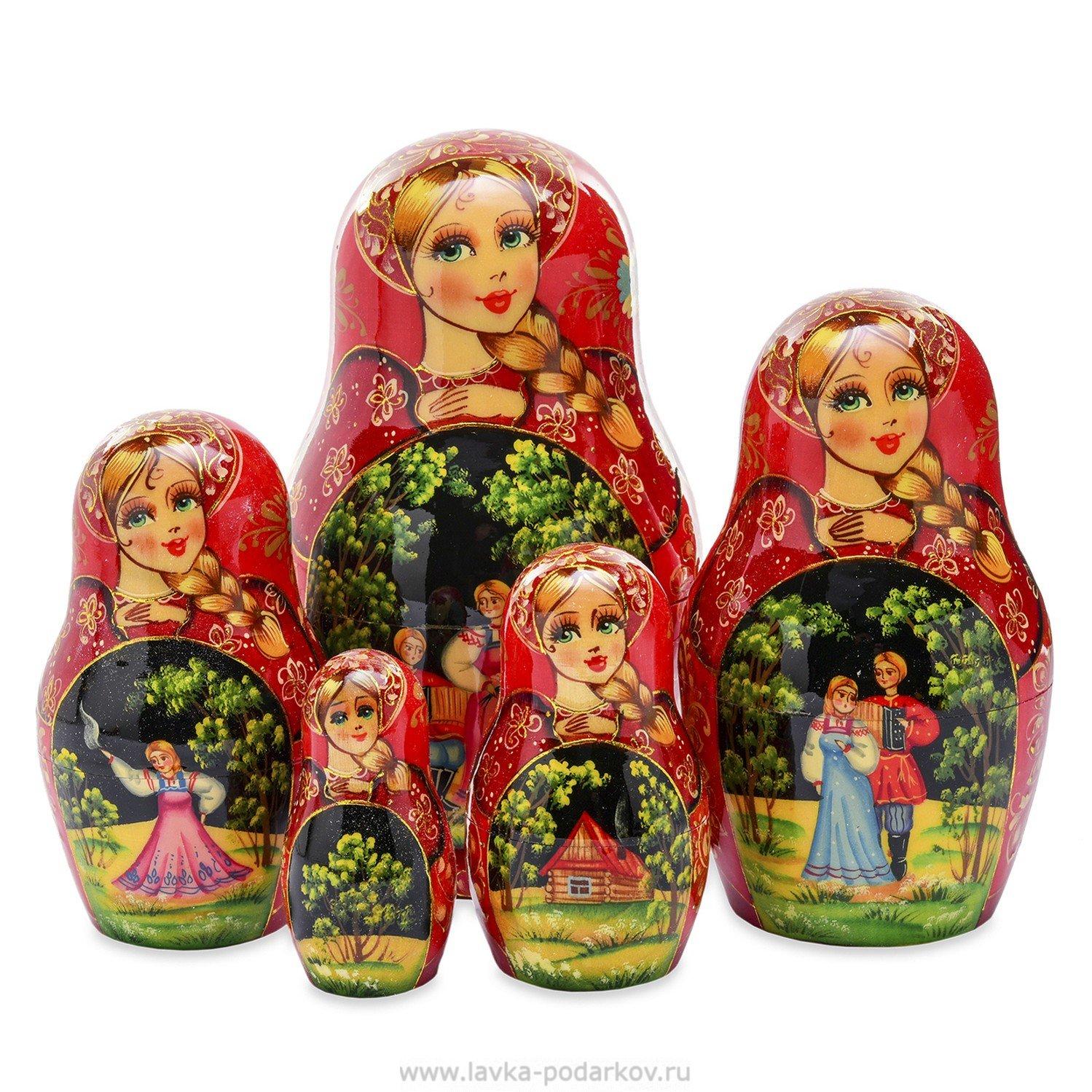 Магазин русских подарков матрёшки