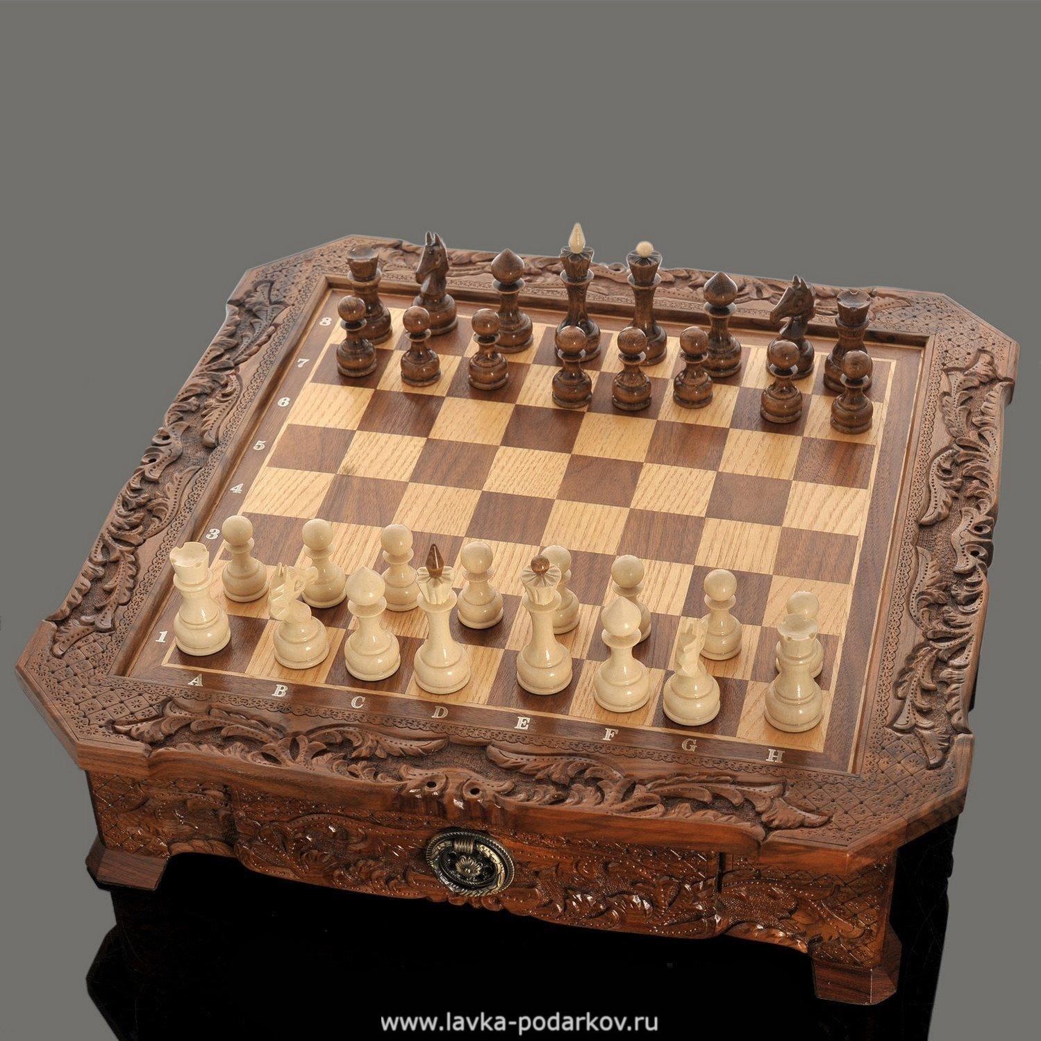 северное резные шахматы из дерева фото замечательно
